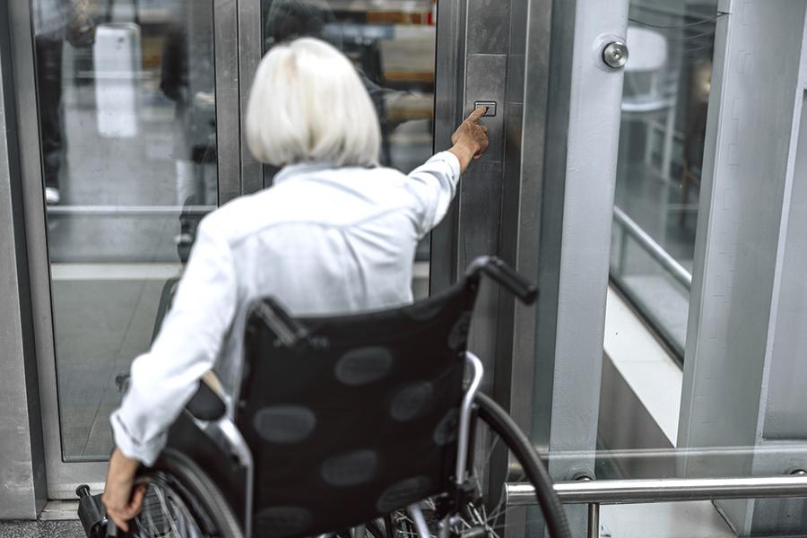 Les normes d'accessibilité pour personnes handicapées